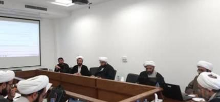 جلسه توجیه و بررسی طرح مداخل امامتی دانشنامه اهل بیت علیهم السلام
